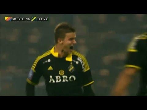 Alla Markkanens mål för AIK - TV4 Sport
