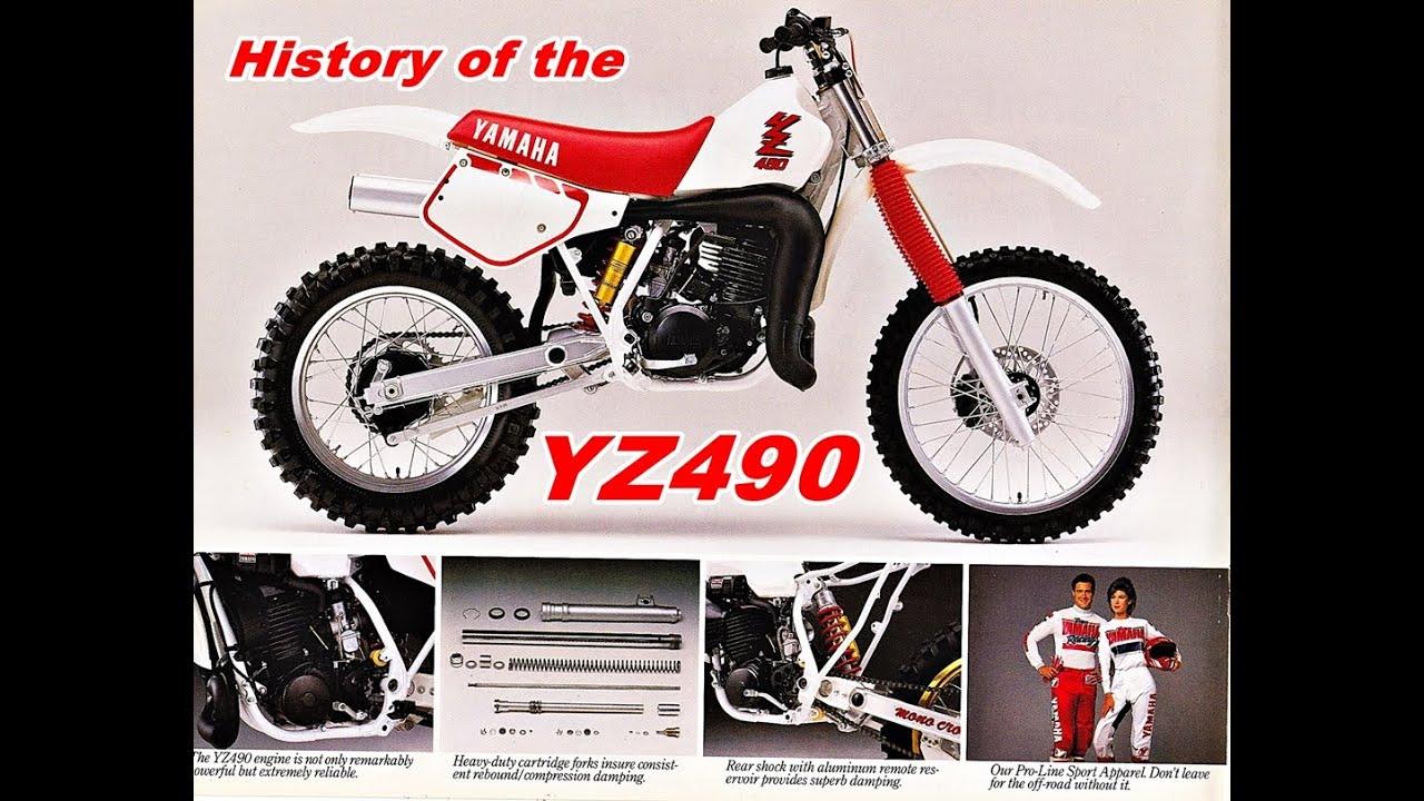 History of the Yamaha YZ490 1982-1990 / DirtBikeDudeZ