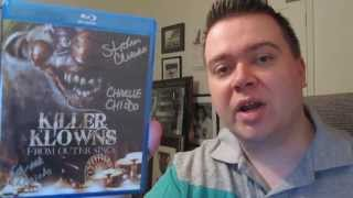 Killer Klowns From Outer Space SIGNED Blu-Ray Unboxing Review