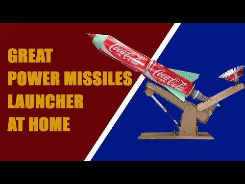 How to Make Powerful 4 Rocket Launcher / Great power Missiles Launcher / cardboard toys