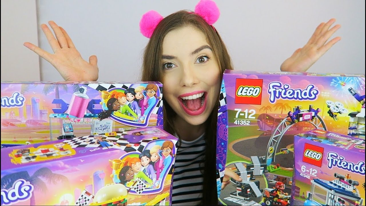 Lego Friends Wielkie Wyścigi I Grampaula Youtube
