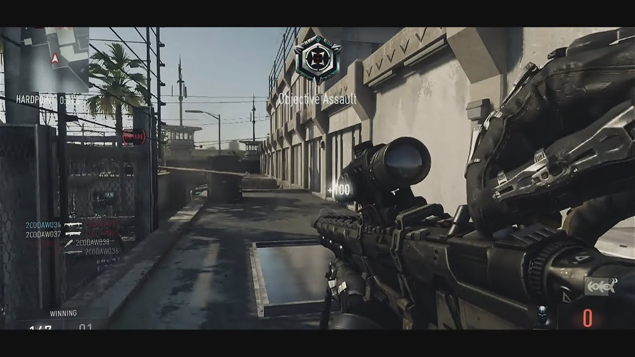 Call of Duty Advanced Warfare Sniping Montage (Sniper ...