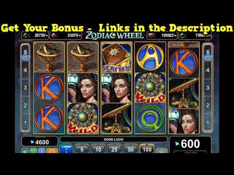 Zodiac Wheel Slot Machine - 150 Free Spins No Deposit Bonus - Play Free Casino Slots