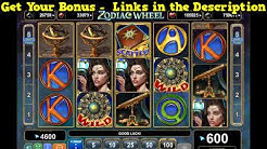 Zodiac Wheel Slot Machine - 150 Free Spins No Deposit Bonus - Play Free Casino Slots