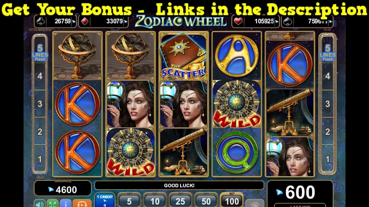Zodiac Wheel Casino