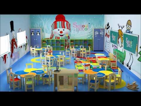 #SchoolFurniture, Nursery Class Room Concept.