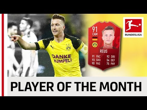 Dortmund's Marco Reus - Your Player Of The Month December!