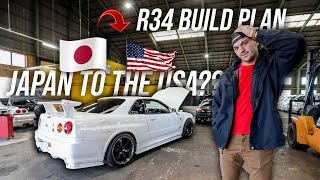 HOW I'M BUILDING MY R34 GTR IN JAPAN | Installing NISMO R34 GTR Parts