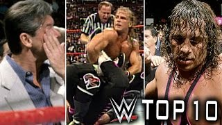 10 Secrets WWE Doesn't Want You To Know About The Montreal Screwjob