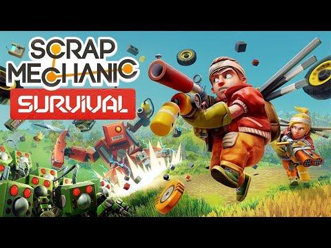 new-survival-mode-update-|-scrap-mechanic-survival-(2020)-|-first-look