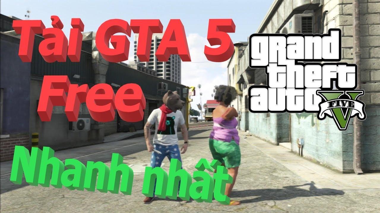 Cách tải game GTA5 miễn phí trên Epic Games