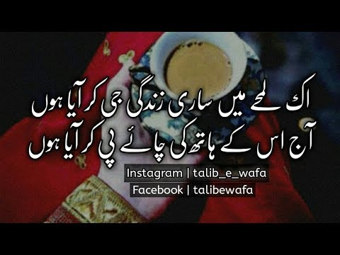 Best Urdu Romantic Poetry | Sms Poetry | Two Line Poetry | Romantic Poetry | Urdu Shairi