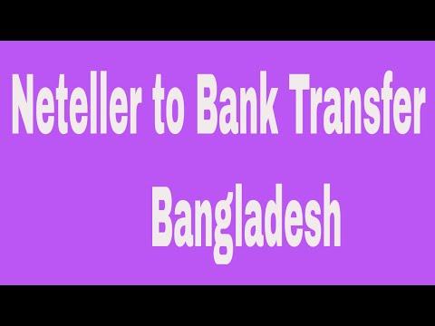 Neteller to Bank Transfer   Bangladesh # Contact: 01764608434