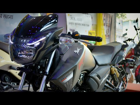 2019 Apache RTR 180 Matte Black|| 5 new features|| Full Review || T N Auto