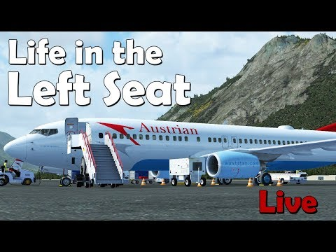 Life in the Left Seat  LOWI - EKCH (Innsbruck to Copenhagen)