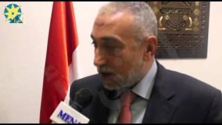 بالفيديو: نائب رئيس الغرفة التجارية متحدثا عن المعوقات بين مصر والأردن