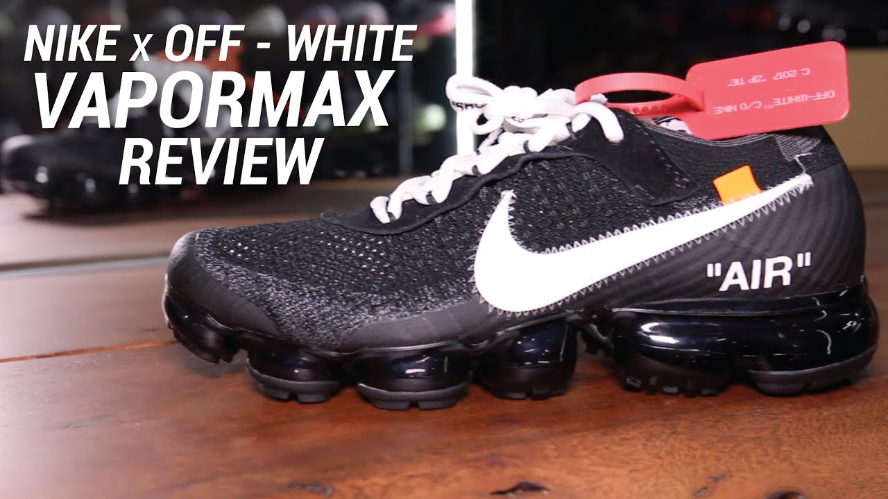 pureza arrendamiento máquina  NIKE X OFF WHITE VAPORMAX REVIEW - YouTube