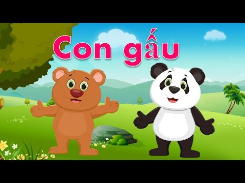 Bé học con vật | em tập nói tên các loài động vật Tiếng Việt | Dạy trẻ thông minh sớm