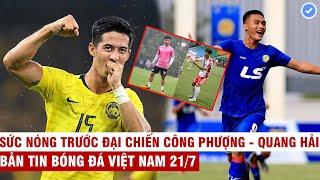VN Sports 21/7   Sao Malay lớn tiếng dọa vị trí đầu bảng của VN, HLV Pháp gửi sao 18 tuổi về Sài Gòn
