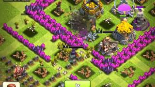 Clash of Clans Barb King, Archer Queen, and new Barbarian Attack