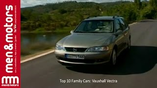Top 10 Family Cars 2001: Vauxhall Vectra
