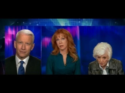 Kathy Griffin & Her Mom Maggie Griffin Joint