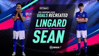 Champions League Goals Recreated: Jesse Lingard