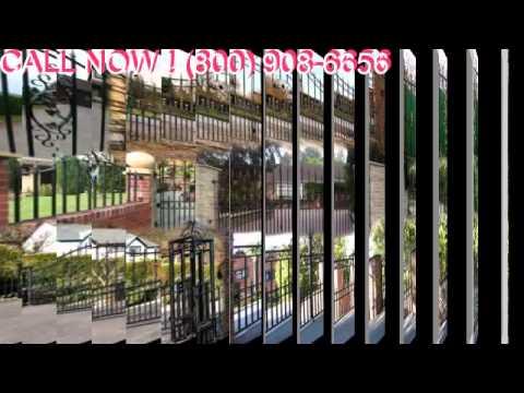 Wrought Iron Gates nj Security