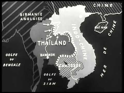 Indo-china war between franco(France) - thaïlandaise(Thailand)