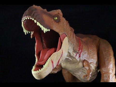 Jurassic World Battle Damage Super Colossal T-Rex