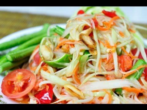 How To Make Thai Food Youtube