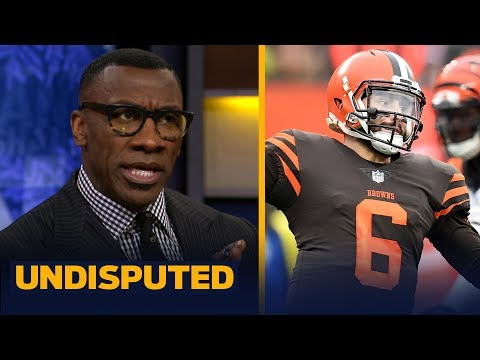 Skip and Shannon disagree on the interpretation of Baker Mayfield's actions   NFL   UNDISPUTED