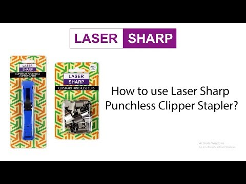 How To Use Clipper Stapler