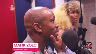 Mafikizolo Remeber their Late Group Member & Friend ,Tebza  on the DJSbuBreakafst