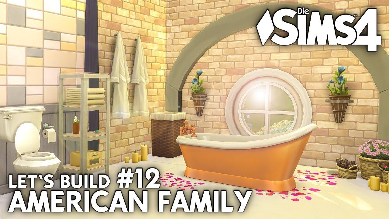 Die Sims 4 Haus bauen   American Family #12: Bad einrichten (deutsch ...