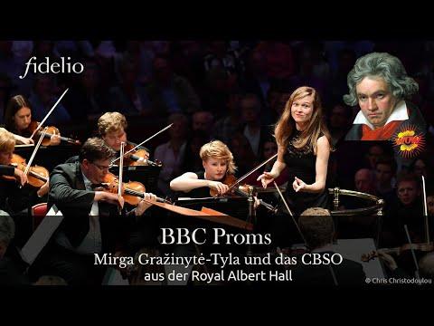 Mirga Gražinytė-Tyla dirigiert Beethovens 5. Symphonie bei den BBC PROMS!