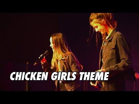 Chicken Girls Theme Song - LIVE in Charlotte w/ Annie, Brooke & Hayden