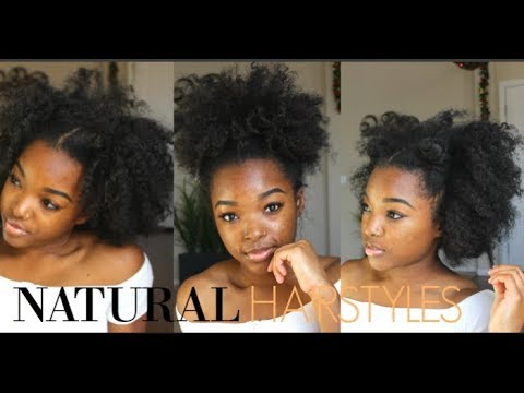 natural hair styles types easy hairstyles type 4 hair 3567 | hqdefault