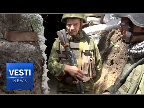 High on Meth, Ukrainian Soldiers Attack the Donetsk People's Republic