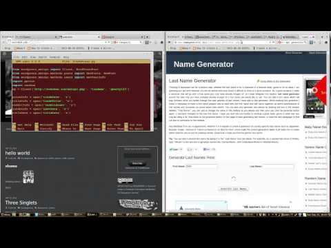 iPython - NumPy - WordPress - Data Process
