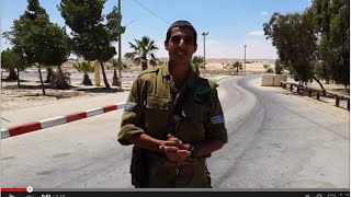 IDF Soldier thanks the Great Neck community and Everfresh Supermarket