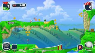 Worms Crazy Golf-Gameplay PC HD