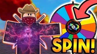 SPIN THE WHEEL CHALLENGE! (Part 2)   ROBLOX: Super Power Training Simulator