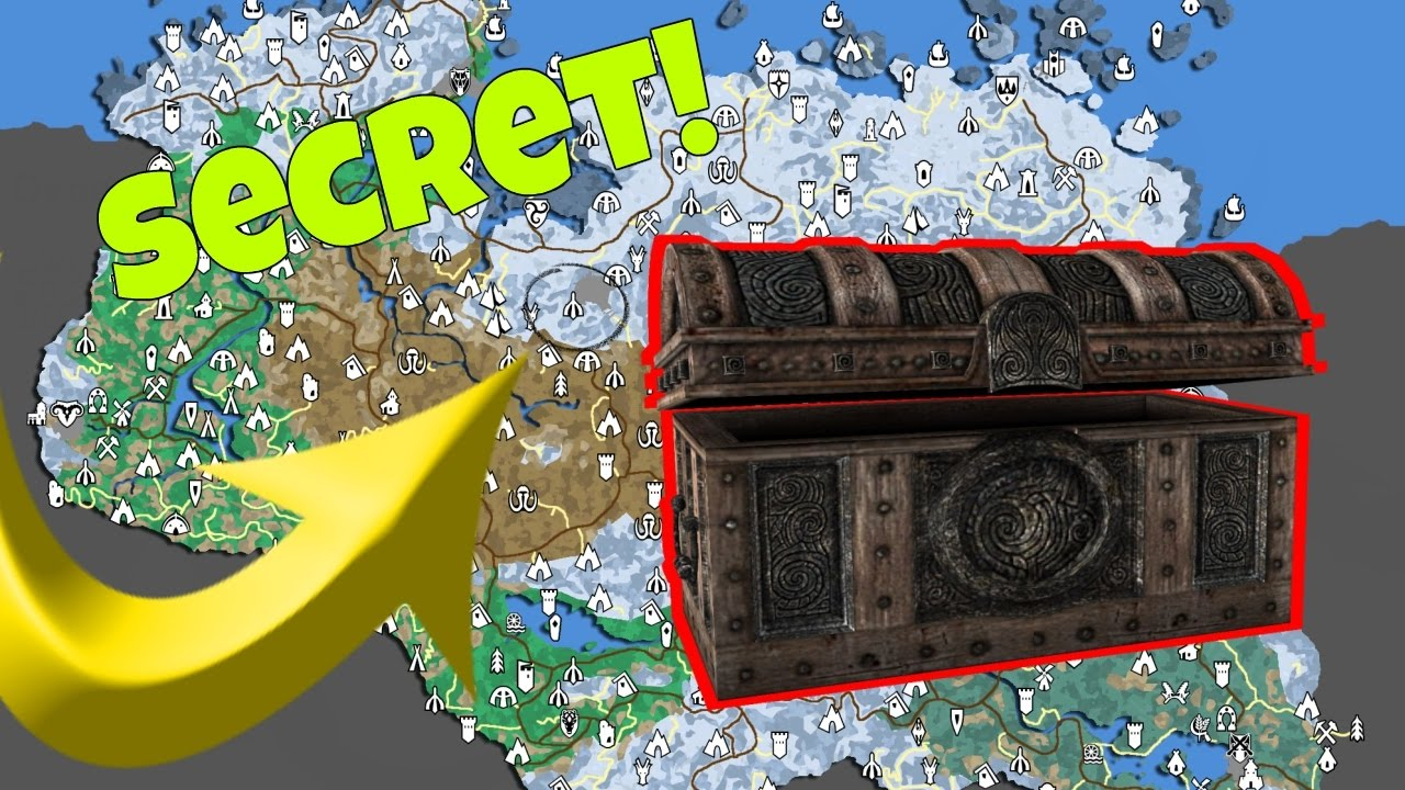 Top Places To Find The Best Loot: Skyrim Unique Locations & Hidden Chests With Great Loot