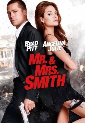 Mr and Mrs Smith (2005) Hindi Dubbed BRRip movie poster