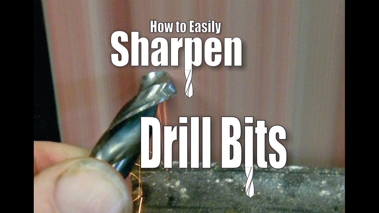 Diy How To Easily Sharpen Drill Bits By Diyeasycrafts