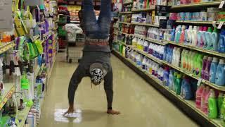 handstand in public almost got kicked