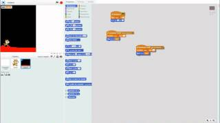 Scratch movimiento con scroll horizontal