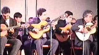"""Las 100 Guitarras Mercedinas """"Calle Angosta"""" cueca de José Zavala"""