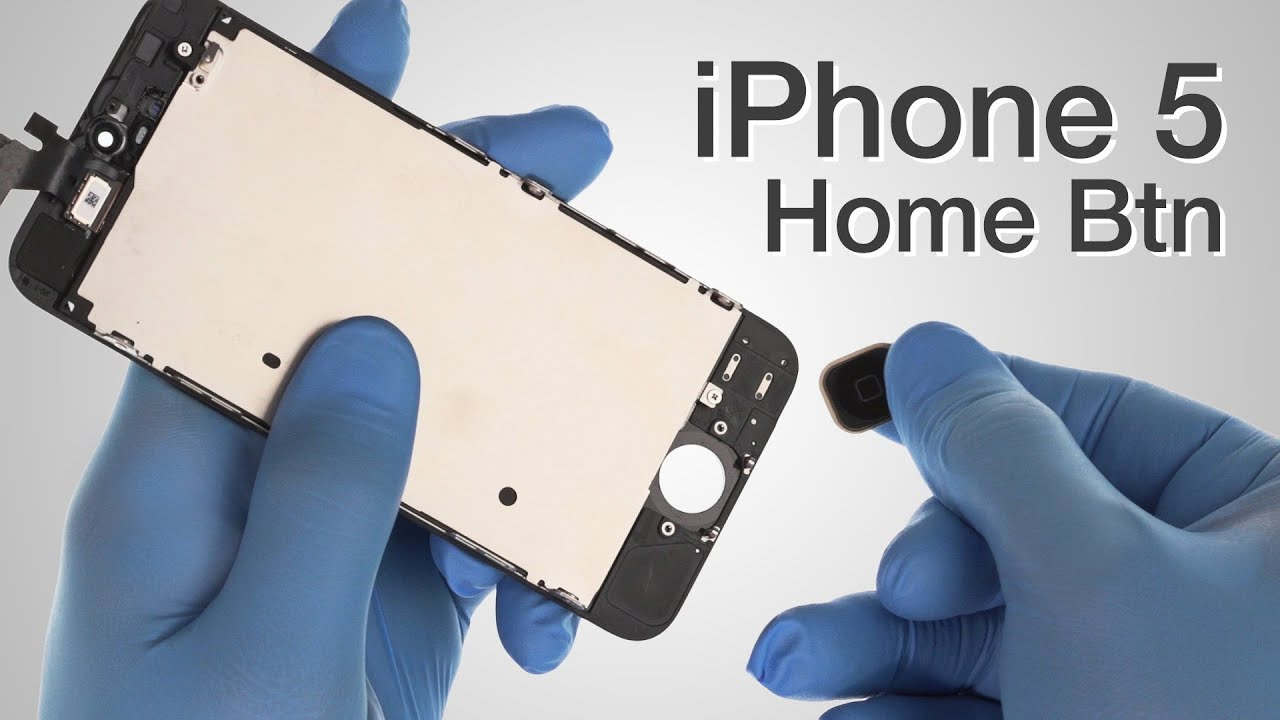 iphone 5 home button not working home button flex cable repair iphone 5 how to tutorial 19304